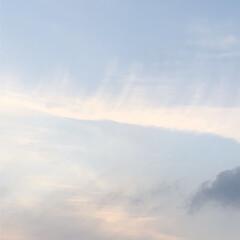空/フォロー大歓迎/冬/猫/おでかけ/旅行/... ゆっくりと 日が暮れています