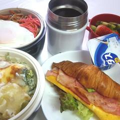 ウェイトアップ/部活お弁当/高校男子お弁当 おはようございます 本日のお弁当 ①➡チ…