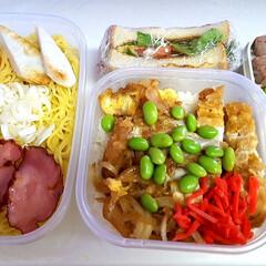 高校男子お弁当 おはようございます。 本日のお弁当  米…