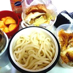 部活弁当/高校男子お弁当 おはようございます 1➡カツ丼 2➡あた…