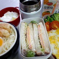 ウェイトアップ/部活弁当/高校男子弁当 本日のお弁当 ①➡オムライス 1k入るお…