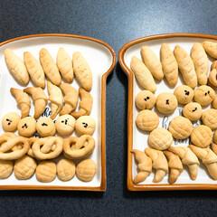 ミニチュアパン風/クッキー/スイーツ ミニチュアパン風のクッキーを🥐 かわいく…