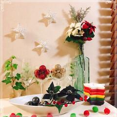ワイングラス/コルク型ライト/クリスマス2019/リミアの冬暮らし/ダイソー/セリア/... 我が家のXmas🎄 お気に入りのグラスや…
