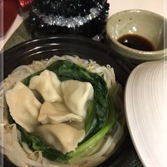 ギョパ🎶/水餃子/餃子/小松菜/もやし/クリスマス/... ギョパ٩(*´◒`*)۶♡  おひとり様…