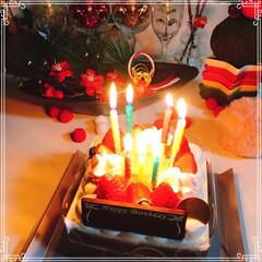 シャトレーゼ/バースデーケーキ/くまさんケーキ/ドームケーキ/お正月2020/ダイソー/... Birthdayくまさんドームケーキ🐻 …(3枚目)