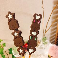 チョコレート/カラースプレー/バレンタイン/最近買った100均グッズ/バレンタイン2020/セリア/... バレンタイン❤ Seriaのシリコン型 …