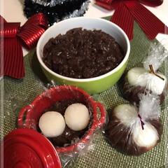 あんこ/お団子/クリスマス/クリスマスツリー/スイーツ/おうちごはん/... あんこ団子~🎶  またたくさんあんこ作り…(2枚目)