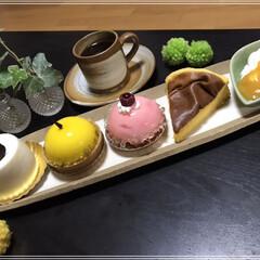 ケーキ/半熟カステラ/LIMIAごはんクラブ/フォロー大歓迎/スイーツ/わたしのごはん ケーキ4種類(●´∇`●) おうちカフェ…