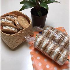 クッキーサンド 今日もたくさん作りました♪ クッキーサン…