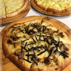ピザ/生地 生地からピザ♪  7種類のピザ 照り焼き…(2枚目)