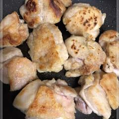 生クリーム/鶏もも肉/おうちごはん/ダイソー/おうちごはんクラブ 鶏もも肉のクリーム...合え?かな🎶 4…(2枚目)