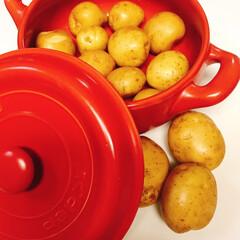 お鍋の収納/100均/セリア/キャンドゥ/鍋収納/鍋の居場所/... お気に入りの可愛いお鍋達❤ 見せる収納し…(4枚目)