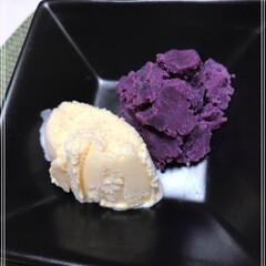 紫いも娘/いも娘/栗娘/バニラアイス/かぼちゃ娘/スイーツ/... 秋のスイーツ(๑>ᴗ<๑) なーんて!!…(3枚目)
