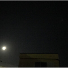 お月さま/火星 月と火星☽*॰ ( ¨̮ ) ॰*✩  …(1枚目)