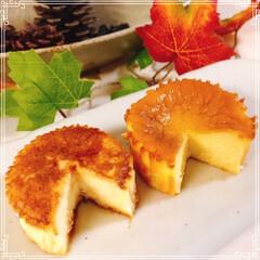 バスク風チーズケーキ/LAWSON/バスクチーズケーキ/セブンイレブン 流行りに乗って食べ比べしました(*ˊᗜˋ…(2枚目)