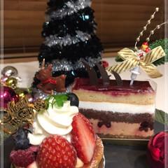 Xmasケーキ/ケーキ/フォロー大歓迎/クリスマス/クリスマスツリー/フード/... 父のお誕生日プレゼントは お酒とおつまみ…