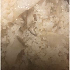 おにぎり/松茸風味/エリンギ/秋 松茸ごはん(○´ヮ`○)/風 我が家に松…(2枚目)