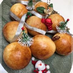 パンツリー🎄/Xmasツリー/ホームベーカリー/グルメ/フード/おうちごはん/... パン焼きました(๑>ᴗ<๑) ツリーパン…