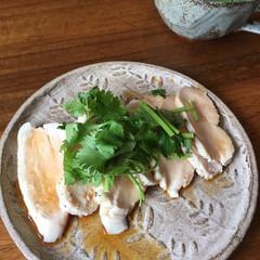 ダイエットレシピ/パクチー/鳥ハム/LIMIAごはんクラブ/わたしのごはん 鳥ハムにハマる日々。 今朝は鳥ハムにパク…