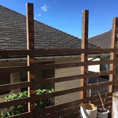 フェンス/ウッドデッキ/台風19号/DIY この度の台風19号による被害に遭われた地…