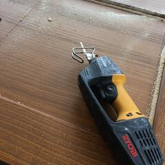 リョービ/引き廻し/電動ノコギリ/工具/DIY/わたしのお気に入り お気に入りの工具。 電動ノコギリです。何…