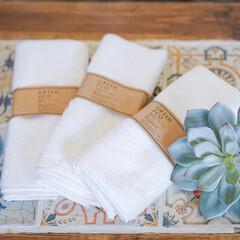 竹/布巾/住まい/掃除/雑貨だいすき 最近のお気に入りアイテム。竹でできた布巾…