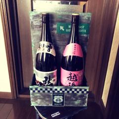 日本酒/ベニア板廃材 念願だった日本酒ストッカー!ベニア板の廃…(2枚目)
