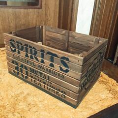 木箱/キャンドゥスノコ 久々に木箱作りました‼️キャンドゥのスノ…