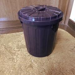 一目惚れ/セリア/ゴミ箱リメイク セリアで一目惚れした💕蓋つきのゴミ箱‼️…