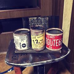 リメ缶🥫/端材で要らんもん作り 端材で又無駄なもん作ってもうたぁ〜😁リメ…(2枚目)