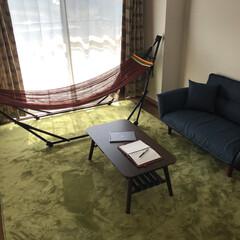 おしゃれ/ハンモック/一人暮らし やっと自分の好きな部屋になってきました。