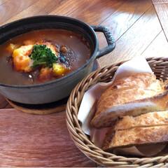 チーズ/ダッチオーブン/パン/カレー/ランチ/渋谷/... 先週の金曜miyama's bar&di…
