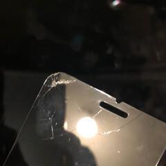 スマートフォン/NIMASO/保護フィルム/スマホ スマホを初めて地面に落としました。パリン…