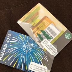 カード整理/大掃除/スタバカード/スターバックス/スタバ 部屋の掃除を始めました。 スタバのカード…