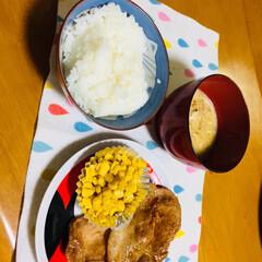 豚肉/冷凍たこ焼き/簡単ご飯/キッチン/フード ★簡単生姜焼き! 焼肉のタレ➕生姜➕醤油…