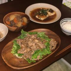 フード/おうちごはん 全部美味しかったけど特に豆腐ステーキは好…