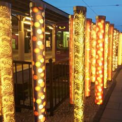 幻想的/キラキラ好き/夜になるとキラキラ/夜バージョン/素敵な場所/素敵な空間/... 引き続き京都旅行です。いろいろ回って、最…