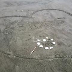 恋人の聖地/冬支度/夏の風物詩/ラブリー/ラブレター/ハート/... 友達とドライブして、海辺が見えたので何気…