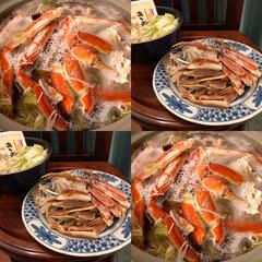 「蟹すき🦀」(1枚目)
