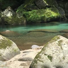 鹿児島/雄川の滝/滝/マイナスイオン/癒し 西郷どんのオープニングで流れている…鹿児…(6枚目)