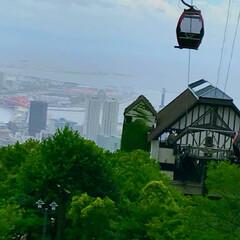 素敵な場所/ロープウェイ/ハーブ園/神戸/おでかけ 神戸旅行…お天気があまり良くなかったけど…