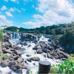 青い空/おでかけ/癒し/滝/マイナスイオン 25年ぶりに、鹿児島の曽木の滝におでかけ…(2枚目)