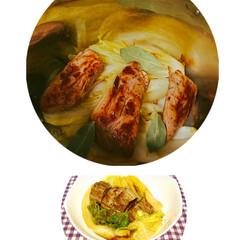 おうちご飯/寒さ対策 久し振りの投稿です😅  白菜4分の1丸ご…