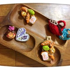 わんこ同好会/ハンドメイド/セリア/平成最後の一枚 セリアさんの ・木かる粘土 ・樹脂粘土を…