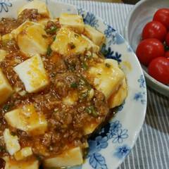 おうちごはん 麻婆豆腐  一番好きな麻婆豆腐を作りまし…(1枚目)
