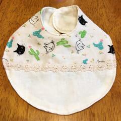 スタイ/ハンドメイド 産まれてくる子供の為にスタイを作ってみま…