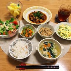 夕飯/フード/おうちごはん 今日の夕飯🍚