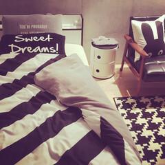 塩系インテリア/ベッドルーム/ベッド ベッドまわり
