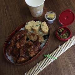 平成弁当/お弁当/みんなのお弁当 鰹節唐揚げ海苔弁当🍱  目玉焼き、本門寺…(3枚目)