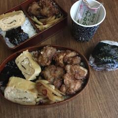 お弁当/みんなのお弁当 ナポリタン弁当🍱  玉子サンド、ツナセロ…(5枚目)